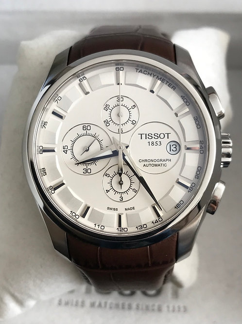 Tissot 1853 Couturier Chronograph Automatic Lemania 5100 SOLD