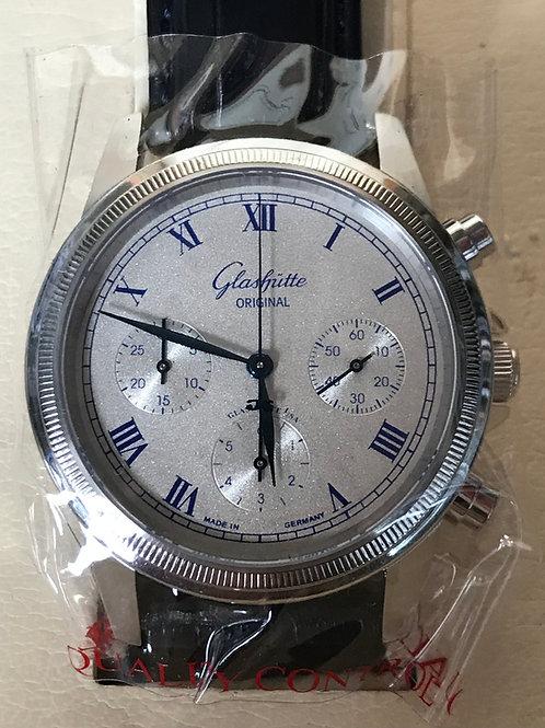 Glashutte Original 1845 Chronograph JUST SERVICED RARE MODEL SOLD