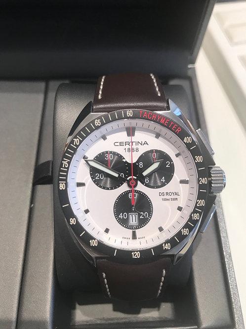 Certina DS Royal Chronograph Quartz BRAND NEW