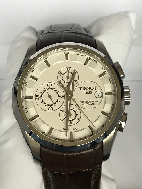Tissot Couturier Chronograph Automatic 43mm FULL WARRANTY SOLD