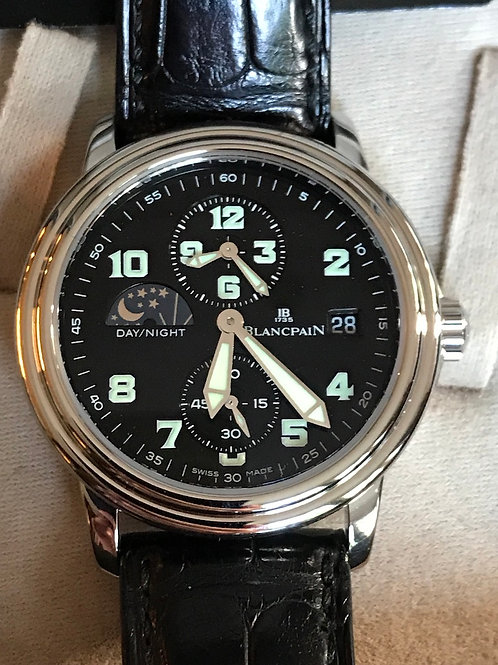 Blancpain Leman Time Zone GMT Day/Night Just Serviced Box/Papers SOLD