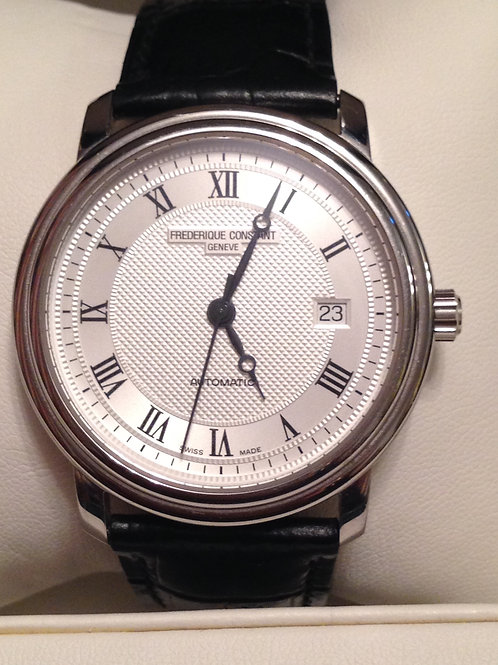 Frédérique Constant Slimline Automatic Steel Gents 39mm SOLD