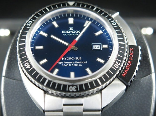 Edox Hydro Sub Automatic 47mm Blue Dial SOLD