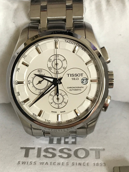 Tissot Couturier Chronograph Automatic Bracelet+Leather Strap RESERVED