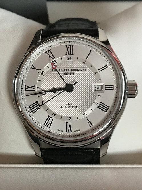 Frederique Constant Classics GMT Automatic 42mm Complete Set LNIB SOLD