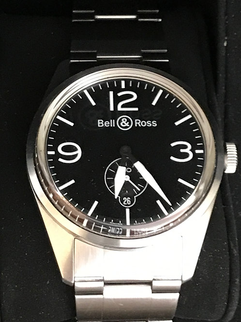 Bell & Ross BR V1 41mm Automatic Complete Set RARE SOLD