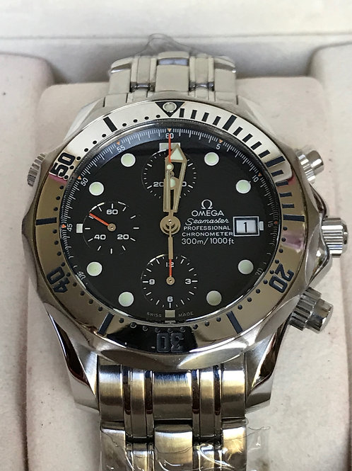 Omega Seamaster 300M Chronograph Automatic Serviced Complete Set SOLD