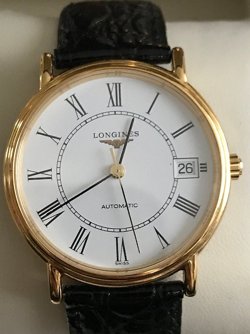 Longines Grande Classique Yellow Gold Plated 34mm Automatic SALE PRICE!! SOLD