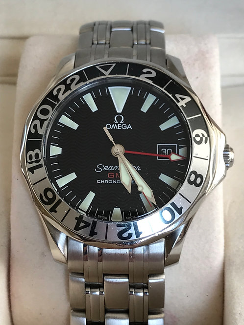 Omega Seamaster 300 M GMT 50TH Anniversary Complete Set SOLD