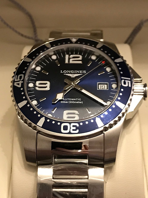 Longines HydroConquest Blue Automatic 41mm SOLD
