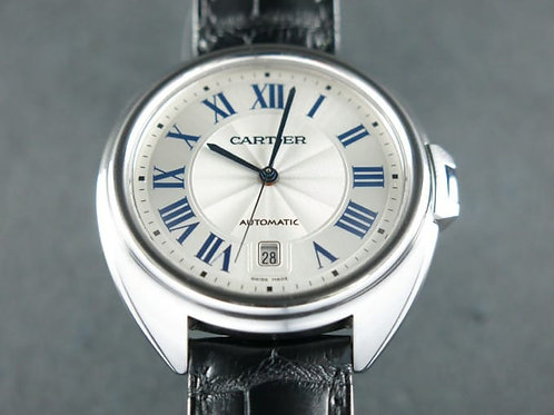 Cartier Clé de Cartier 40mm Automatic Steel Complete Set Mint SOLD