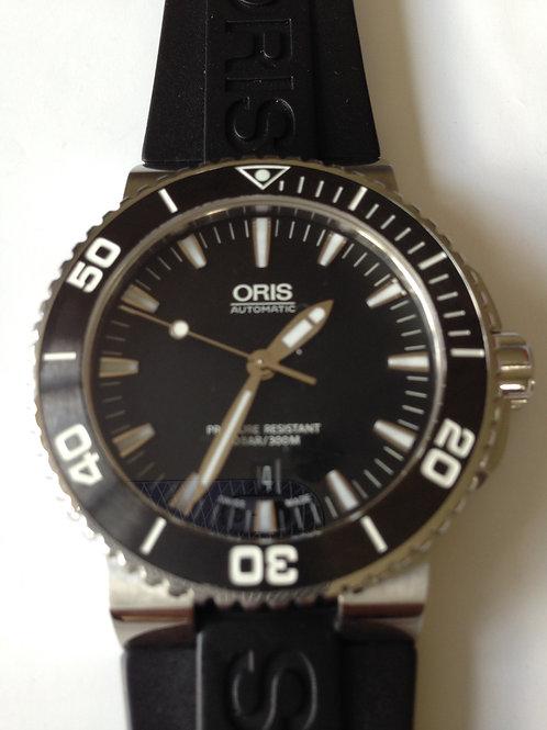 Oris Aquis Date Diver Steel/Rubber Nearly New