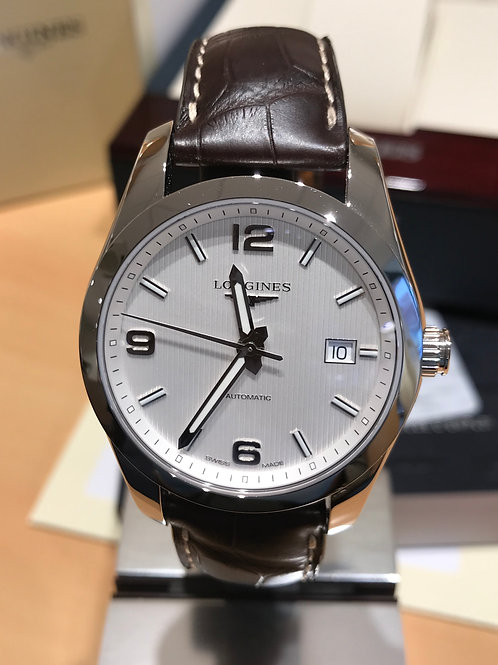 Longines Conquest Classic 40mm Automatic Steel BRAND NEW