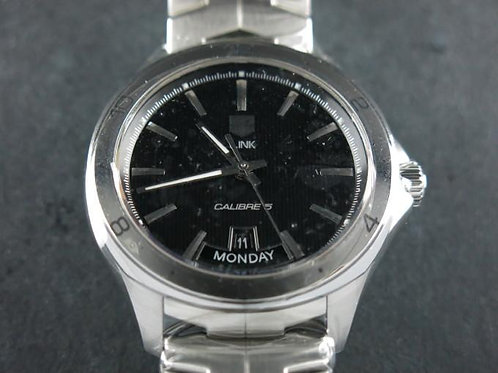 TAG Heuer Link Calibre 5 Day Date Black Dial BRAND NEW SOLD