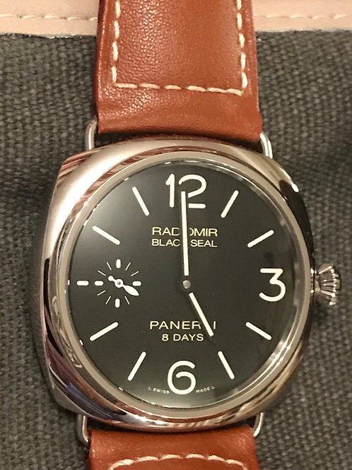 Panerai Radiomir Black Seal 8 Days Steel 45mm SOLD