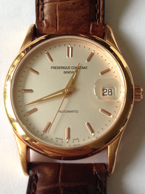 Frédérique Constant Classic Automatic Gents Rose Gold Plated SOLD