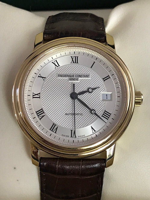 Frederique Constant Classics Automatic Yellow old Plated LNIB SOLD
