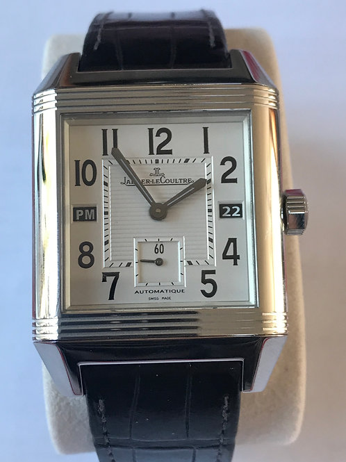 Jaeger LeCoultre Reverso Squadra GMT Steel SOLD