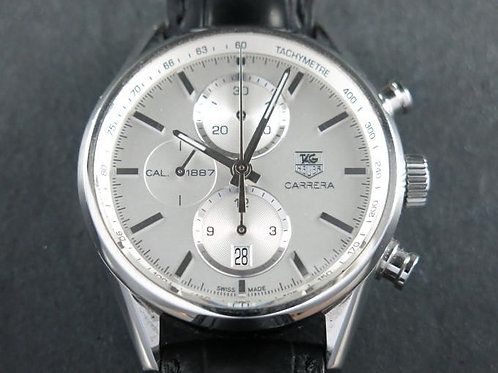 TAG Heuer Carrera Calibre 1887 Automatic Chronograph 41mm Complete Set SOLD