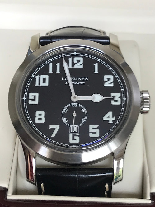 Longines Heritage Military 44mm Automatic Serviced Under Warranty SOLD