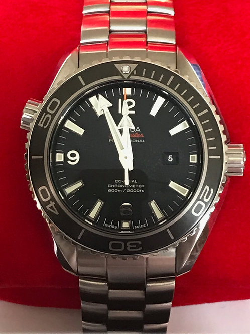 Omega Seamaster Planet Ocean 37.5mm Automatic Under Omega Warranty SOLD