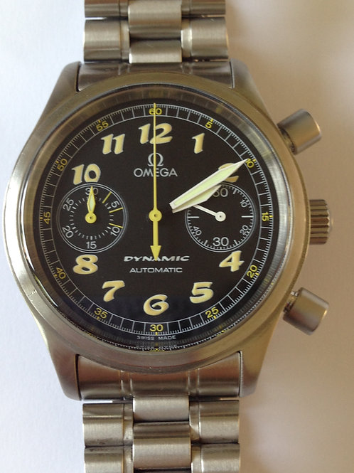 Omega Dynamic Automatic Chronograph Serviced Complete Set! SOLD