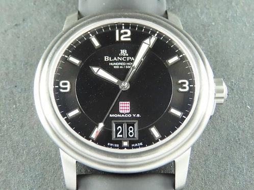 Blancpain Leman Aqualung Big Date Steel MYS LTD ED 150 Pieces Complete
