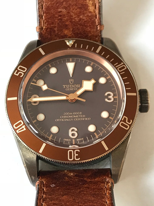 Tudor Heritage Black Bay Bronze Great Patina 2017 SOLD