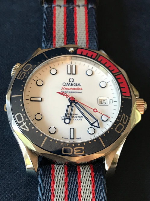 Omega Seamaster 300M Commander's Watch LTD ED James Bond SOLD
