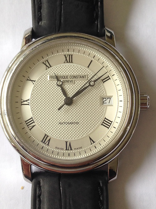 Frédérique Constant Slimline Automatic Steel Gents 38mm SOLD