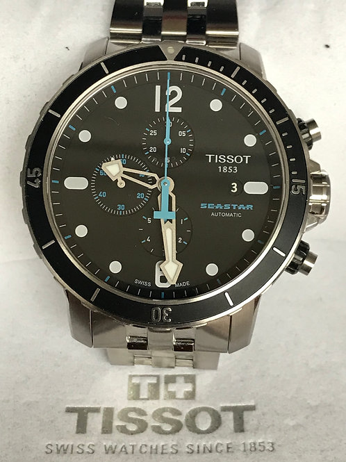 Tissot Seastar 1000 Chronograph Automatic Pristine Complete Set SOLD