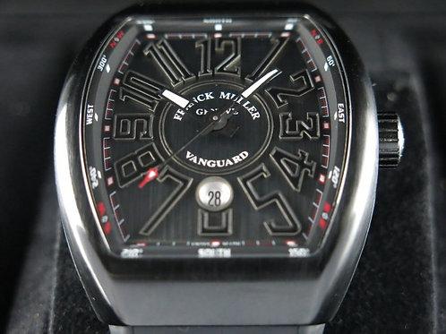 Franck Muller Vanguard Titanium Black PVD SOLD