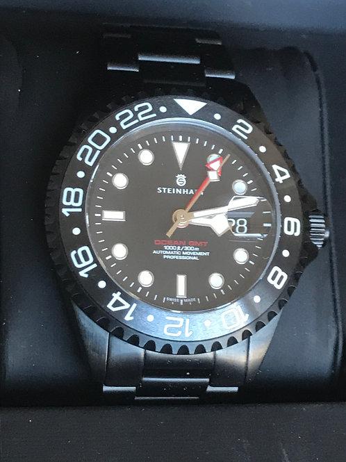 Steinhart Ocean One GMT Black DLC 42mm Automatic LTD Complete Set LNIB Under War