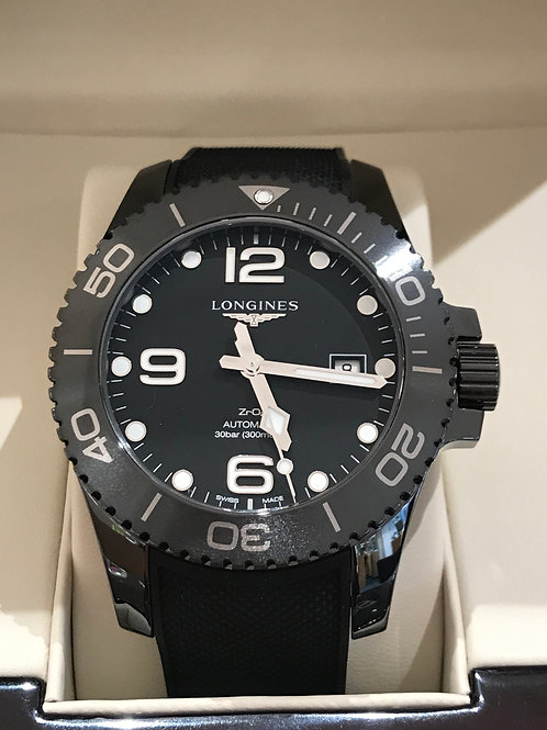 Longines HydroConquest Black Ceramic 43mm NIB