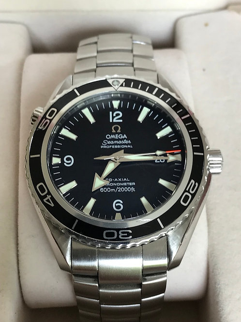 Omega Seamaster Planet Ocean 45mm Steel Complete Set Serviced SOLD