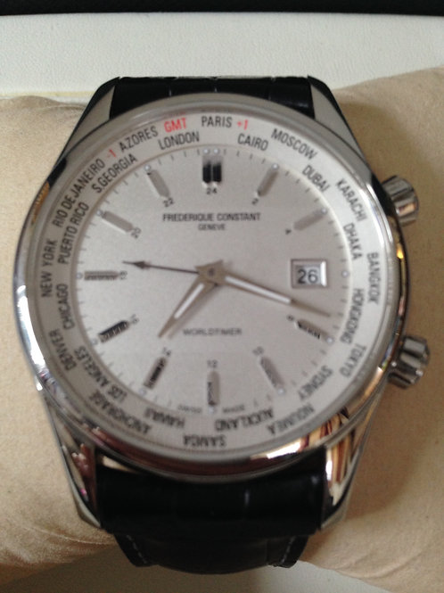 Frederique Constant Worldtime GMT SOLD