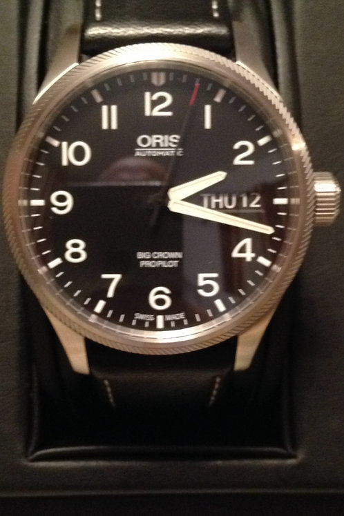 Oris Big Crown Day Date Pilot Watch Like New Condition SUPER SALE! SOLD