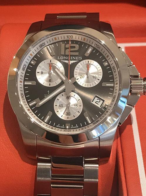 Longines Conquest Chronograph Roland Garros 2016 LTD ED