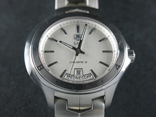 TAG Heuer Link Calibre 5 Day Date White Dial BRAND NEW SOLD