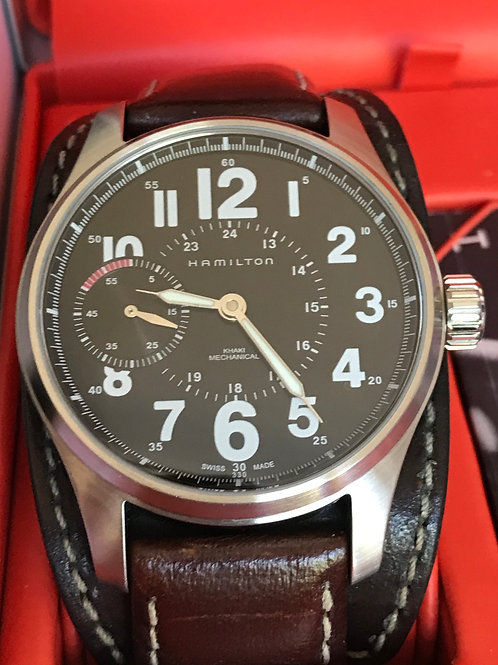 Hamilton Khaki Field Officer 44mm Manual Complete Set Serviced RARE SOLD