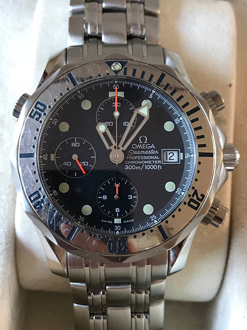 Omega Seamaster 300M Chronograph Just Serviced! SOLD
