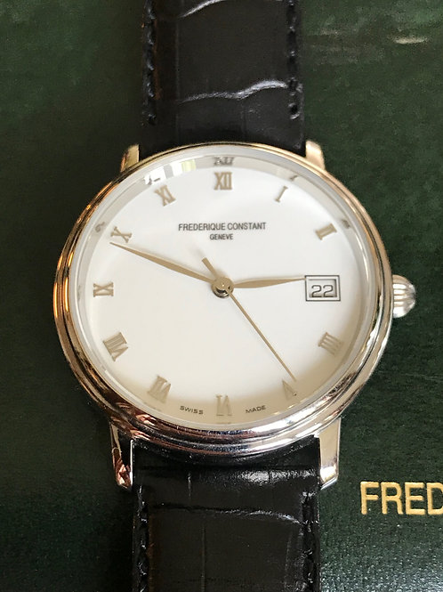 Frederique Constant Slimline 36mm Automatic Complete Set SOLD