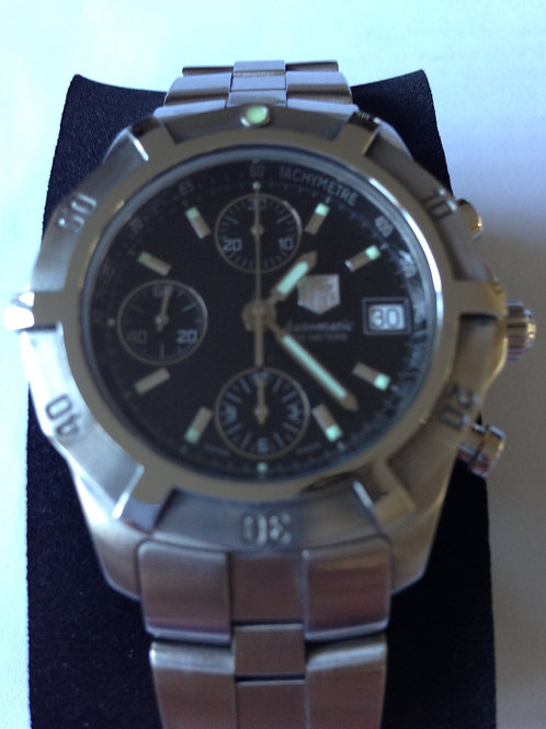 Tag Heuer 2000 Chronograph Automatic Steel SUPER SALE! SOLD