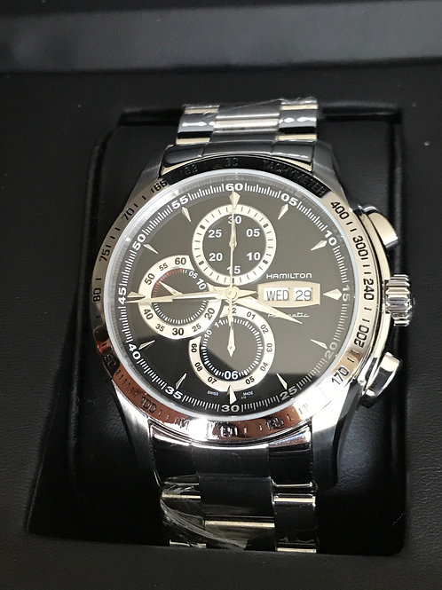 Hamilton Jazzmaster Lord Automatic Chronograph 7750 Serviced+Polished SOLD
