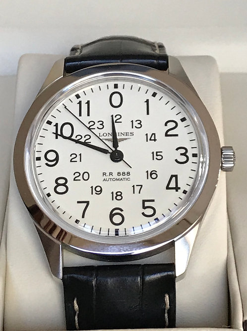 Longines Heritage Railroad Re-Edition Automatic Complete Set RARE SOLD