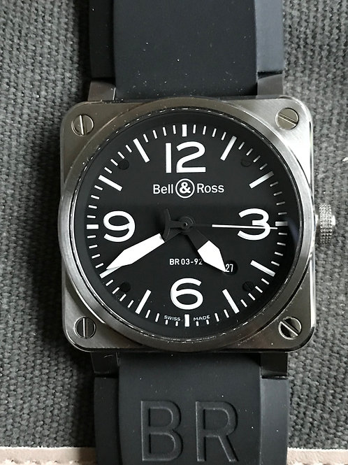Bell & Ross BR03-92 Steel 42mm Automatic SOLD