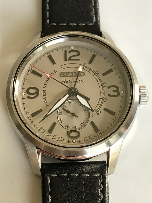Seiko Presage Automatic Power Reserve Silver LTD UNDER WARRANTY SOLD