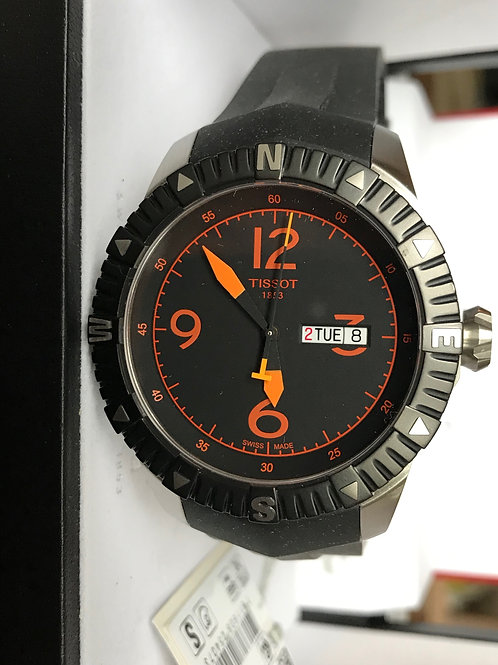 Tissot T-Navigator Automatic Orange 44mm BRAND NEW SOLD