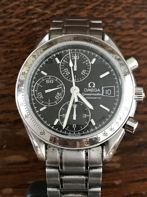 Omega Speedmaster Date Automatic 39mm Black Dial SOLD