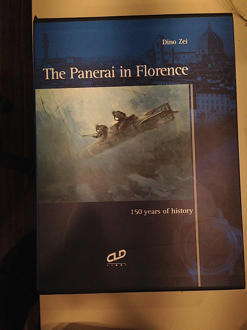 Panerai In Florence Triple Book In Slipcase By Dino Zei NEW